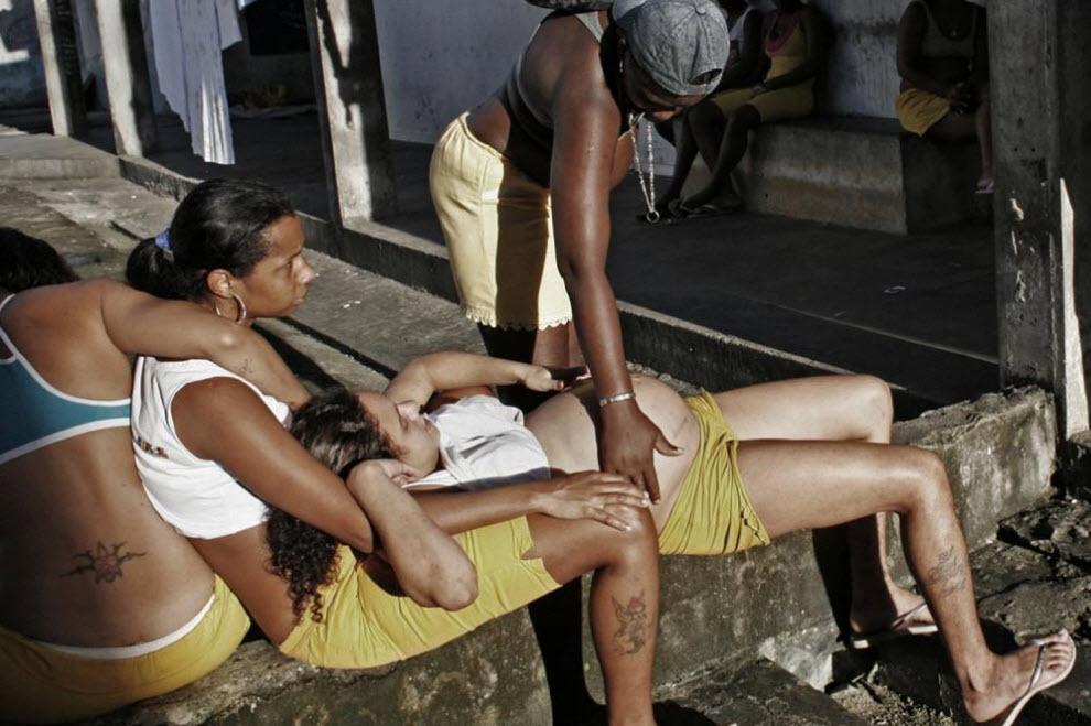 Голые в женских тюрьмах